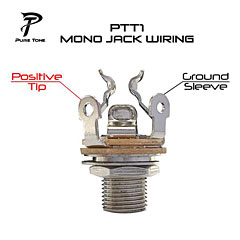 Pure Tone Multi Contact Output Jack Gold Mono