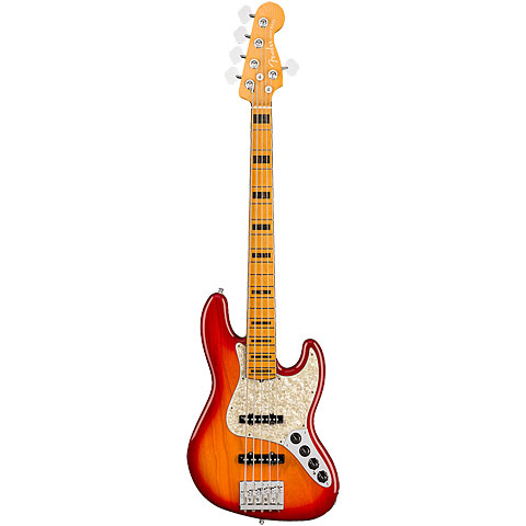 Fender American Ultra Jazz Bass V MN PRB « Basse électrique