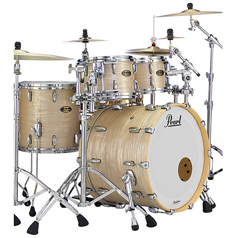 """Pearl Masters Maple Gum 22"""" Platinum Gold Oyster"""
