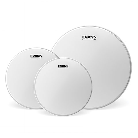 Drumhead Set Evans UV2 Coated 12/13/16 Standard Set