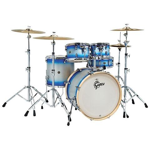 """Schlagzeug Gretsch Drums Catalina Birch 22"""" Blue Silver Duco"""