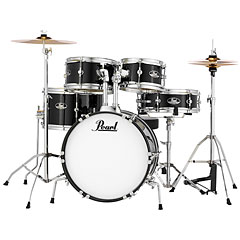 Pearl Roadshow Junior Jet Black Complete Set « Batería