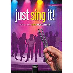 Helbling Just Sing It! - Ideen zur Popchorleitung « Chornoten