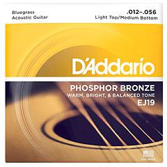 D'Addario EJ19 .012-056 Bluegrass « Corde guitare folk