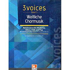 Helbling 3 Voices - Weltliche Chormusik « Chornoten