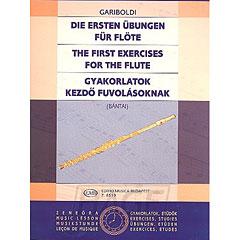 Edition Musica Budapest Die ersten Übungen für Flöte « Manuel pédagogique