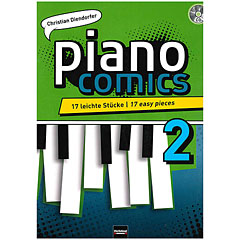 Helbling Piano Comics 2 « Lehrbuch