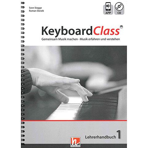 Lehrbuch Helbling Keyboard Class - Lehrerhandbuch 1 (inkl. Audio-CD)