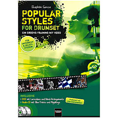 Helbling Popular Styles for Drumset « Leerboek