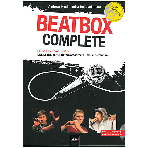 Lehrbuch Helbling Beatbox Complete
