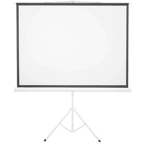 Ecran de projection Eurolite Projection Screen 4:3, 1,72x1,3 m with stand