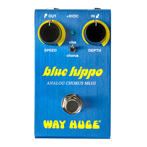 Effektgerät E-Gitarre Way Huge Smalls Blue Hippo