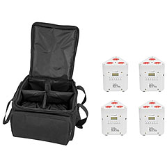 Eurolite Set 4x AKKU TL-3 TCL wh + SB-4 Soft-Bag « Accuindicatie