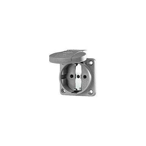 Netzstecker Mennekes Schukoeinbausteckdose grey 1,5 - 2,5 mm²