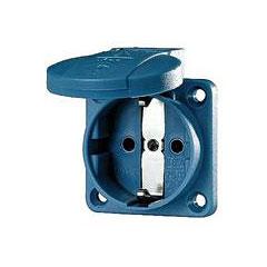 Mennekes Schukoeinbausteckdose blue 1,5 - 2,5 mm² « Conector de red