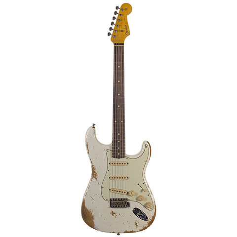 Fender CustomShop 1962 Heavy Relic Stratocaster OLY « Guitare électrique