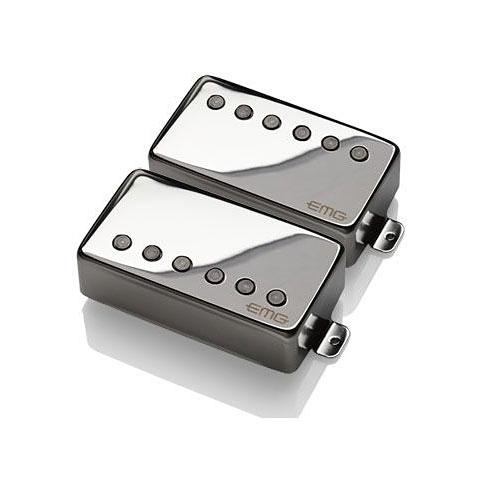 Pastillas guitarra eléctr. EMG F-57/66 Set Black Chrome
