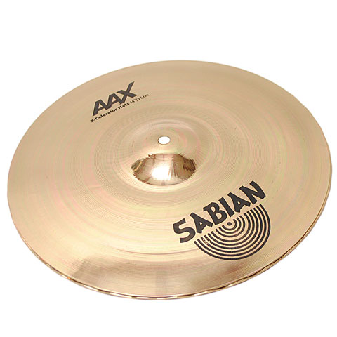 Cymbale Hi-Hat Sabian AAX 14'' Brilliant X-Celerator Hats B-Stock