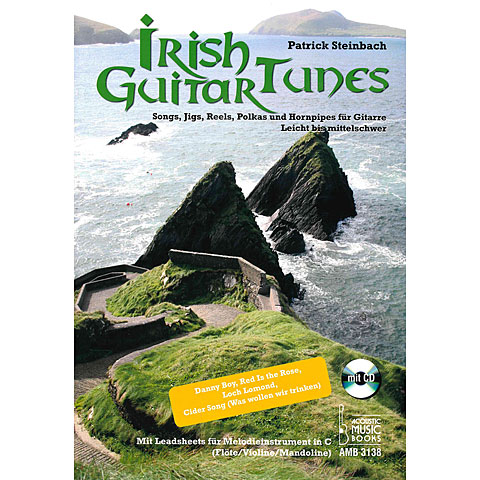 Libros didácticos Acoustic Music Books Irish Guitar Tunes