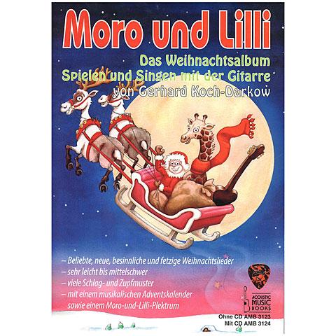 Lehrbuch Acoustic Music Books Moro und Lilli - Das Weihnachtsalbum
