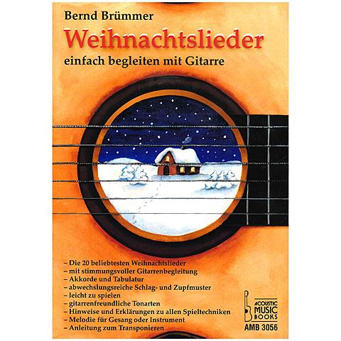 Instructional Book Acoustic Music Books Weihnachtslieder einfach begleiten mit Gitarre