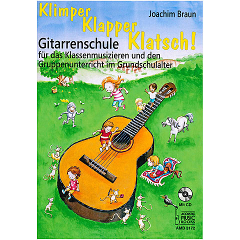 Kinderbuch Acoustic Music Books Klimper, Klapper, Klatsch!