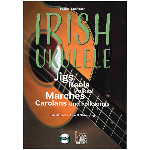 Leerboek Acoustic Music Books Irish Ukulele