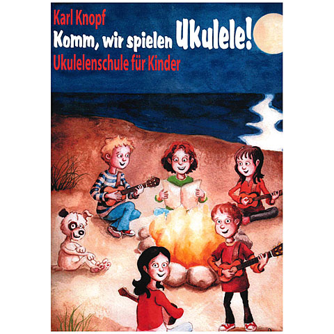 Libros didácticos Acoustic Music Books Komm, wir spielen Ukulele! +CD