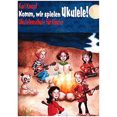 Acoustic Music Books Komm, wir spielen Ukulele! +CD « Instructional Book