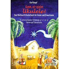 Acoustic Music Books Komm, wir spielen Ukulele! Das Weihnachtsalbum « Manuel pédagogique