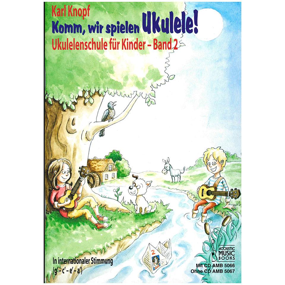 acoustic music books komm wir spielen ukulele band 2 instructional book. Black Bedroom Furniture Sets. Home Design Ideas
