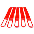 Pequeños accesorios Gafer.pl Tie Staps 25x550mm 5 pieces red
