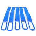 Pequeños accesorios Gafer.pl Tie Staps 25x260mm 5 pieces blue
