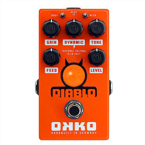 Effectpedaal Gitaar Okko Diablo V2 Single Channel