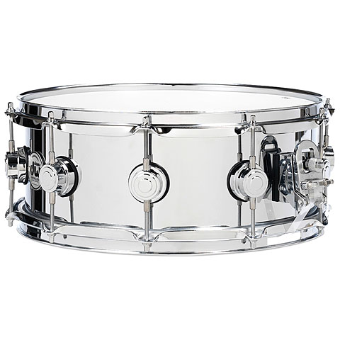 "Caja DW Collector's  Stainless Steel 13"" x 4,5"" Snare Drum"
