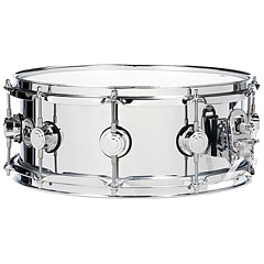 "DW Collector's  Stainless Steel 13"" x 4,5"" Snare Drum « Caisse claire"