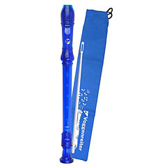 Voggenreiter Rubber Recorder (blue) 1091 « Sopraanblokfluit