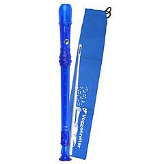 Voggenreiter Rubber Recorder (blue) 1092 « Sopran-Blockflöte