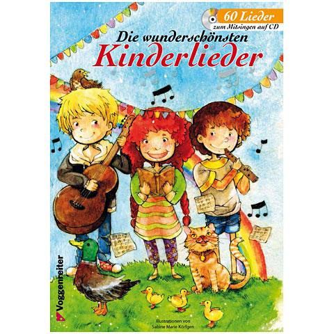Notenbuch Voggenreiter Die wunderschönsten Kinderlieder