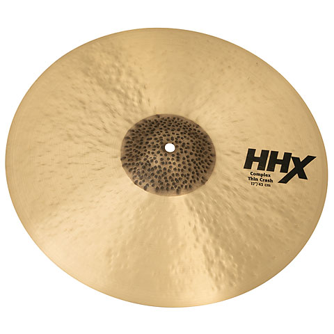 "Crash-Cymbal Sabian HHX 17"" Complex Thin Crash"