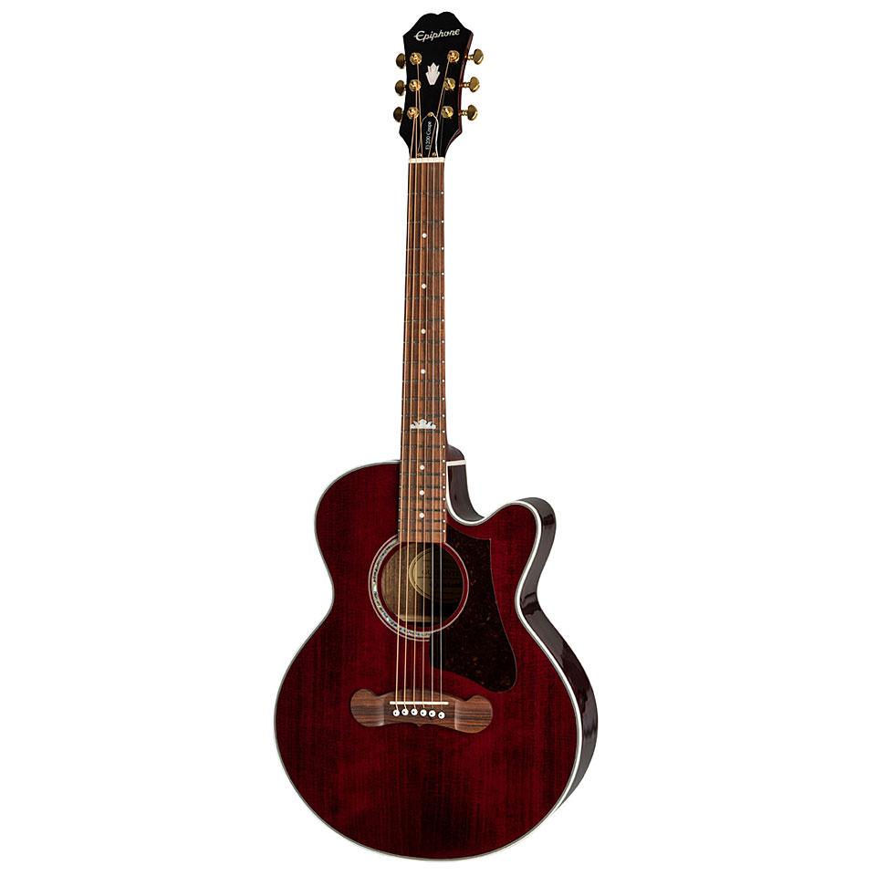 Westerngitarren - Epiphone EJ 200 Coupe Westerngitarre - Onlineshop Musik Produktiv