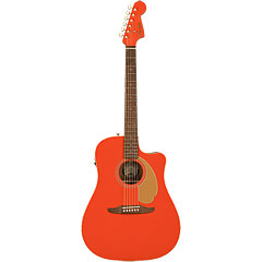 Fender LTD Redondo Player Fiesta Red « Acoustic Guitar
