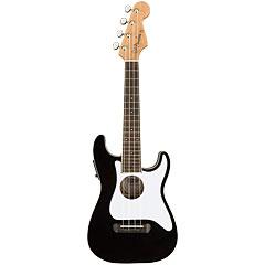 Fender Fullerton Strat Uke Black « Ukulele