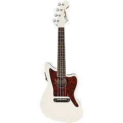 Fender Fullerton Jazzmaster Uke Olympic White « Ukulele