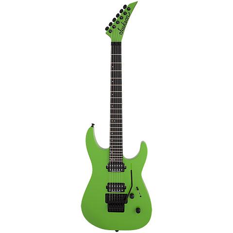 Jackson PRO DK2 Slime Green « E-Gitarre