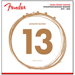 Fender 860 m Phosphor Bronze Dura-Tone® Coated 13-56