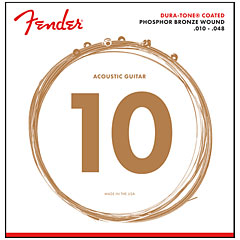 Fender 860XL Phosphor Bronze Dura Tone® Coated 10-48 « Electric Guitar Strings