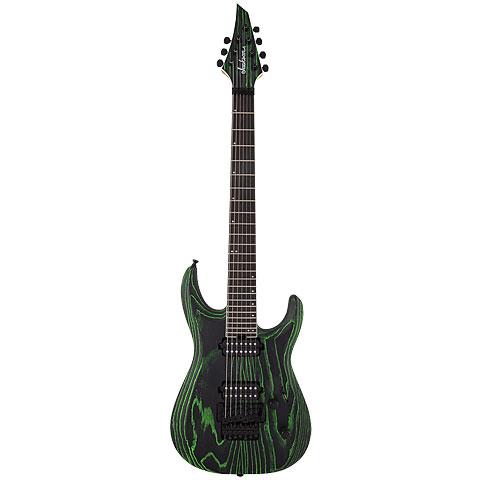 Jackson PRO DK Modern Ash FR7 BK GRN « E-Gitarre