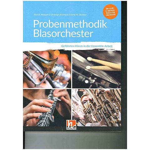 Manuel pédagogique Helbling Probenmethodik Blasorchester (inkl. Kopiervorlagen