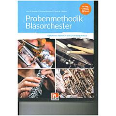 Helbling Probenmethodik Blasorchester (inkl. Kopiervorlagen « Libros didácticos